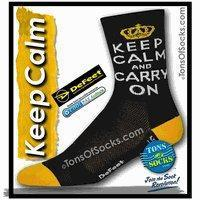 Buy cheap Defeet Keep Calm & Carry On Performance Socks (Final Sale) from wholesalers