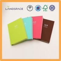 Best A5 Leather Hard Cover Daily Planner Notebooks wholesale