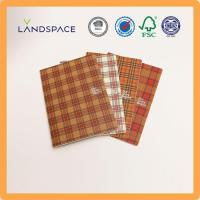 China Thread Sewing Card Paper Cover School Notebooks on sale