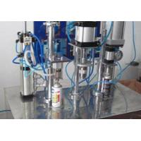 Best aerosol can filling machine for small industry spray air fre wholesale