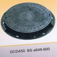 Best EN124 round ductile iron manhole covers wholesale
