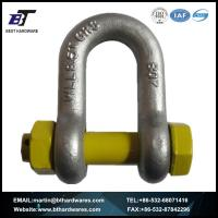Buy cheap SHACKLE HDG AS2741 Grade S D Shackle with Safety Pin from wholesalers