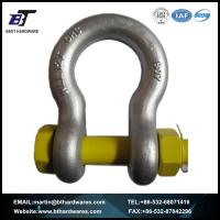 Buy cheap SHACKLE HDG AS2741 Grade S Bow Shackle with Safety Pin from wholesalers