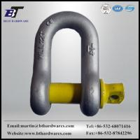 Buy cheap SHACKLE HDG US type forged D shackle from wholesalers