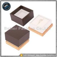 Best Jewelry Boxes JBW186R Luxury Lacquer Painting Wooden Jewelry Storage Box Wooden Ring Box wholesale