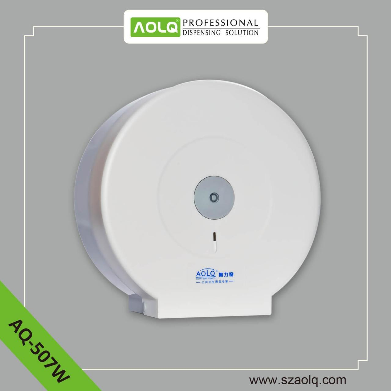 China Paper Dispensers AQ-507W PS Jumbo Roll paper towel Dispenser on sale