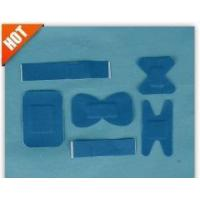 Best Various of Blue Elastic Fabric First Aid Bandages with Detective Metal Pad wholesale