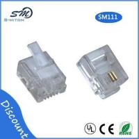 Best RJ11 modular plug 6 pin 2 core telephone cable connector wholesale