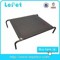 China Factory direct sale large steel frame orthopedic chewproof elevated dog bed on sale