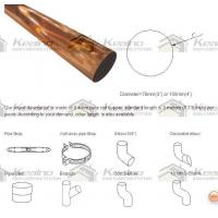 China Copper Round Downspouts on sale