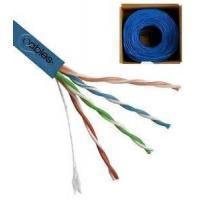 4 Pairs UTP CAT5E Networking Cable , 0.50mm Solid Bare Copper Conductor LAN Cable