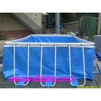 Cheap Metal Frame Swimming Pool Metal Frame Swimming Pool with Sand Filter Pumps for sale