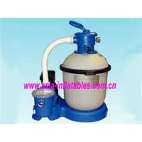 China Metal Frame Swimming Pool Sand Filter Pumps on sale