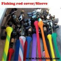 Best colorful fishing rod covers/sleeves wholesale