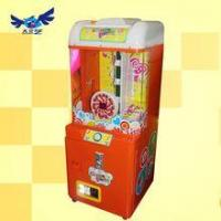 China Automatic candy vending machine/Hot sales coin pusher lollipop machine on sale