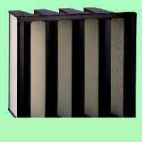 Buy cheap V-series density pleated air filter from wholesalers
