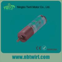 China 16mm diameter customized speed one to five stages mini dc planetary gear motor on sale