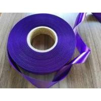 China Fashion ribbon, high quality apparel,100% Polyester woven satin ribbon double faced on sale