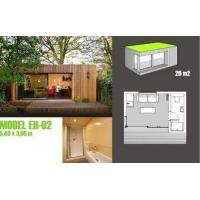 Best Soundproof Prefabricated Garden Studio / Prefab Garden Shed For Garden Music Studio wholesale