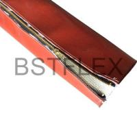 Buy cheap Fiberglassfiresleeve Fire Sleeve With Zipper Closure from wholesalers
