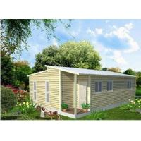 Buy cheap Prefabricated Light Steel Frame Australian Granny Flats , One Slope Roof House from wholesalers