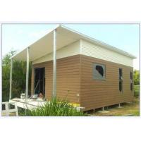 Cheap Light Steel Structure Australian Granny Flat / Foldable House With Light Weight for sale