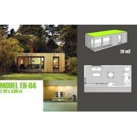 China Booths Garden Studios / Prefabricated Garden Studio With Light Steel Frame on sale