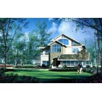 Buy cheap House Prefabricated , High Insulation Villa With PVC Sliding Windows from wholesalers