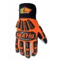 Best High Visibility Cotton Oilfield Safety Products Impact Safety Gloves wholesale