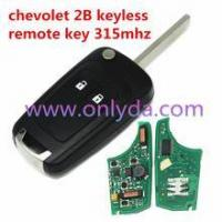 Best Chevrolet Cruze keyless 2 Button remote control with 315MHZ wholesale