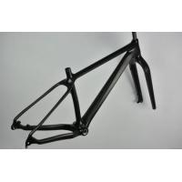 China ICANBikes carbon beach bike frame 16/18/20 available UD weave fat bike rims on sale