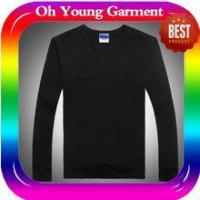 Best men long sleeve collar t-shirt custom long sleeve t shirt made in china wholesale