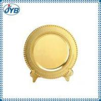 Best producer custom souvenir commemorative plate with fake gold plated wholesale