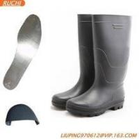 Best pvc no lace safety boots wholesale