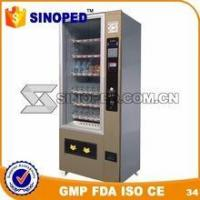 China latest modern design drinks vending machine for sale on sale