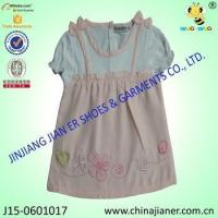 100%cotton wholesale baby girl party dresses