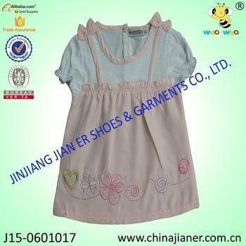 Cheap 100%cotton wholesale baby girl party dresses for sale