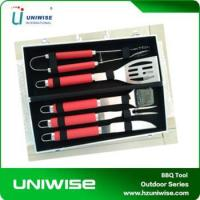 China Amazon Best Seller 5PCS BBQ Tools BBQ Set With Case on sale