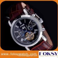 mce western men flying tourbillon mechanical watch