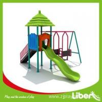 China China Liben Backyard Play Equipment for Kids with Slide and Swing Set Manufacturers on sale