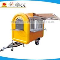 Best food motorcycle vegetable cart, trailer de sucos, fast food trailer catering cart fried chips cart wholesale