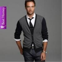 Best Sweater Mens cashmere cardigan with button SWT-M10102 wholesale