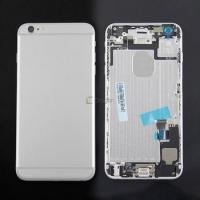 Original Repair Parts for iPhone 6 Plus Battery Door Back Cover Housing Assembly-Sliver 64GB