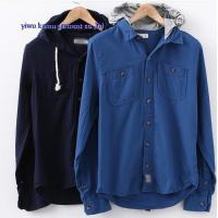 Best KM-632 Hoddy casual dress shirts mens hoodies shirts wholesale