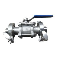 Best Ball valve series Clamp quick ball wholesale