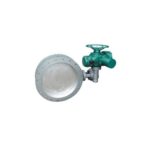 Cheap Ventilation butterfly valve ZD941S electric wear dust gas valve for sale