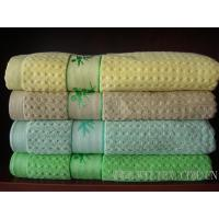 China Bamboo Towel With Jacquard Border on sale