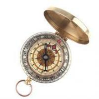 Best Portable Travel Hiking Outdoor Classic Brass Camping Pocket Watch Style Compass wholesale