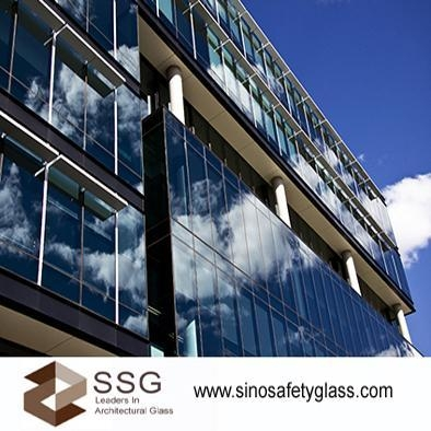 Cheap Curtain Walls Laminated glass for sale