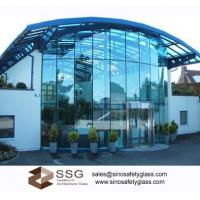 Best F Green, Ford Blue Architectural Curtain Wall Glass For Commercial Buildings wholesale